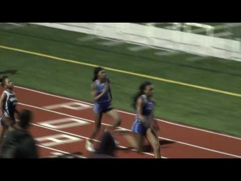 Lincoln Way East High School. Girls 200M (2016 Sectional Championships)
