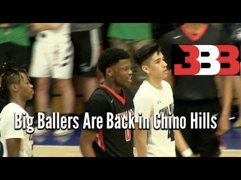 Big Ballers FIRST Game in Chino Hills NO LaMelo Ball but the ANKLE BULLY Was Still in the House