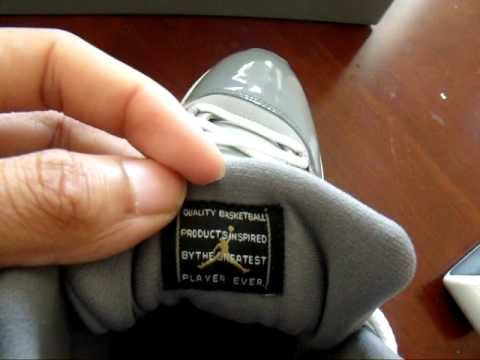 Air Jordan 12 Faux Ongles Gris Froid