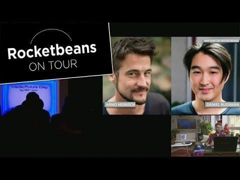 Media Future Day | Rocket Beans on Tour | Arno und Budi in Zürich