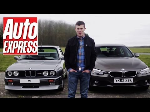 BMW E30 M3 vs BMW 320d - Auto Express