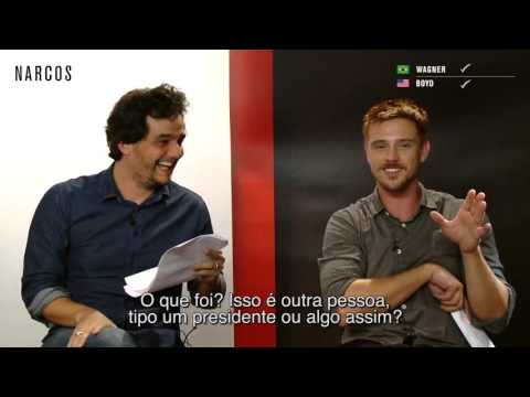 Desafio Narcos: Wagner Moura Vs. Boyd Holbrook