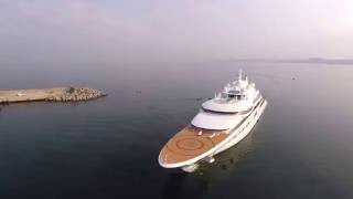 Spotting Gigayachts at Stabia Main Port