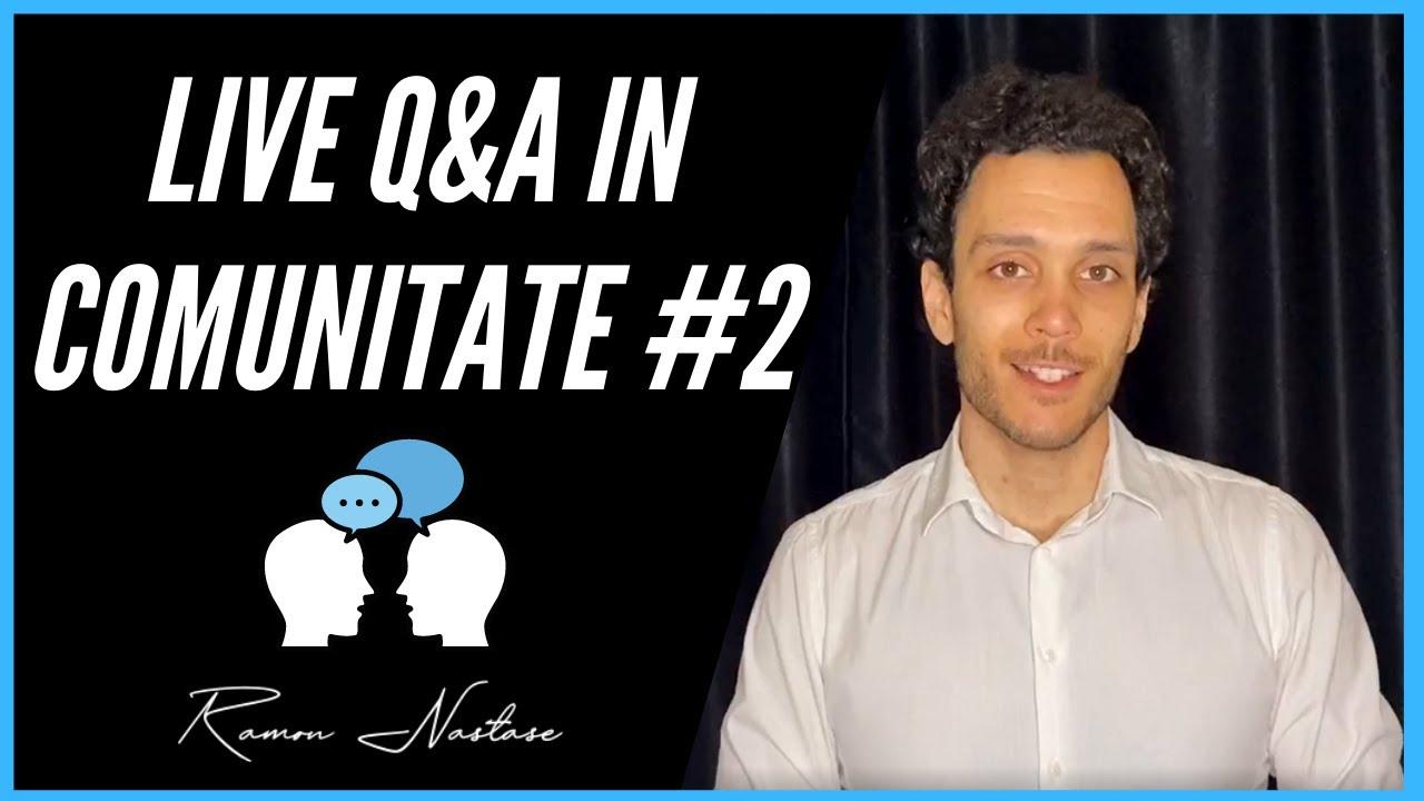 Job-uri de viitor in IT & Live Q&A