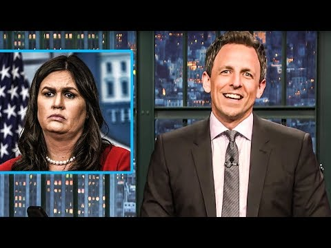 Seth Meyers FORCES Sarah Huckabee Sanders To Finally Tell The Truth
