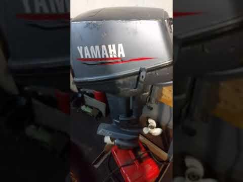Купил мотор Ямаха 6л.с.