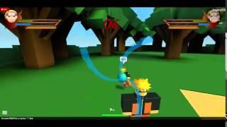 Naruto Shippuden aventura en línea Ultimate Ninja Storm Revolución Roblox