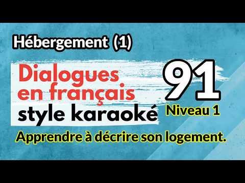Dialogues en français (style karaoké) écoutez et répétez, no 91