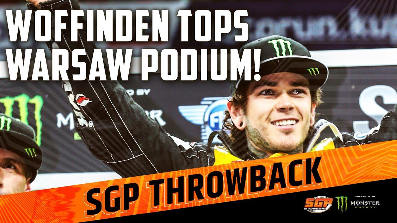 WOFFINDEN TOPS WARSAW PODIUM IN 2016! | FIM Speedway Grand Prix