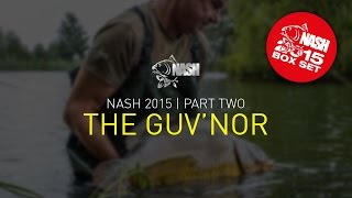 Nash 2015 DVD BOX SET PART 2, Film 1 THE GUV'NOR + SUBTITLES Kevin Nash Carp Fishing
