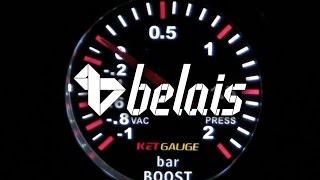 Указатель давления турбо «KetGauge» LEXUS STYLE 7707-2 (Ø52) — «Белайс»