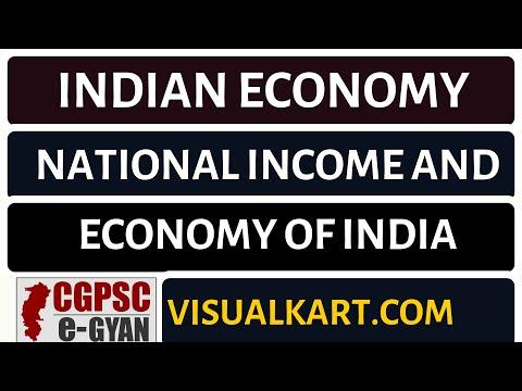 Economics Lecture 7 | Indian Economy | National Income | cgpsc egyan