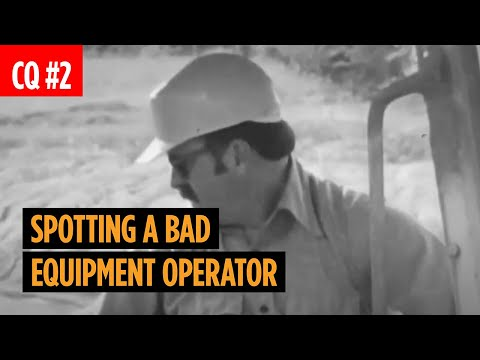 How To Spot A Bad Equipment Operator