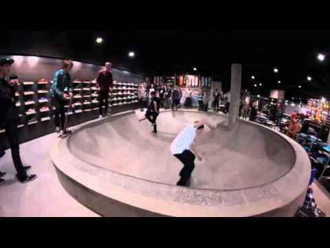 4032a54800c21e Antiz skateboard   Titus Berlin - New Shop   first Bowlsession - YouTube