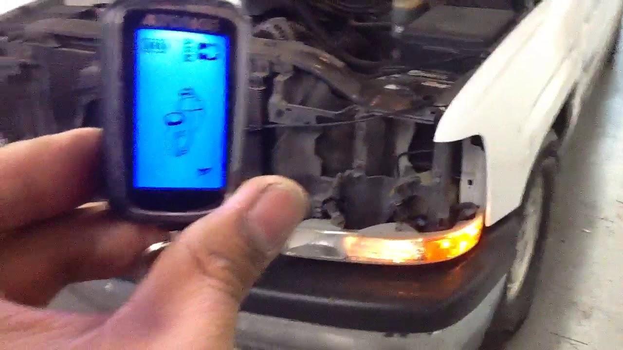 AUTOPAGE rf-425  Viper siren with back up battery 1999-2002 Chevy Silverado