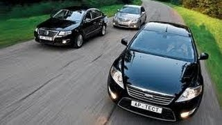 Наши Тесты Ford Mondeo, Volkswagen Passat, Toyota Camry 2007