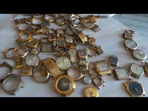 ЗОЛОТО часы СССР |  ЧАСЫ в ЖЕЛТОМ КОРПУСЕ | ПОЗОЛОЧЕННЫЕ ЧАСЫ