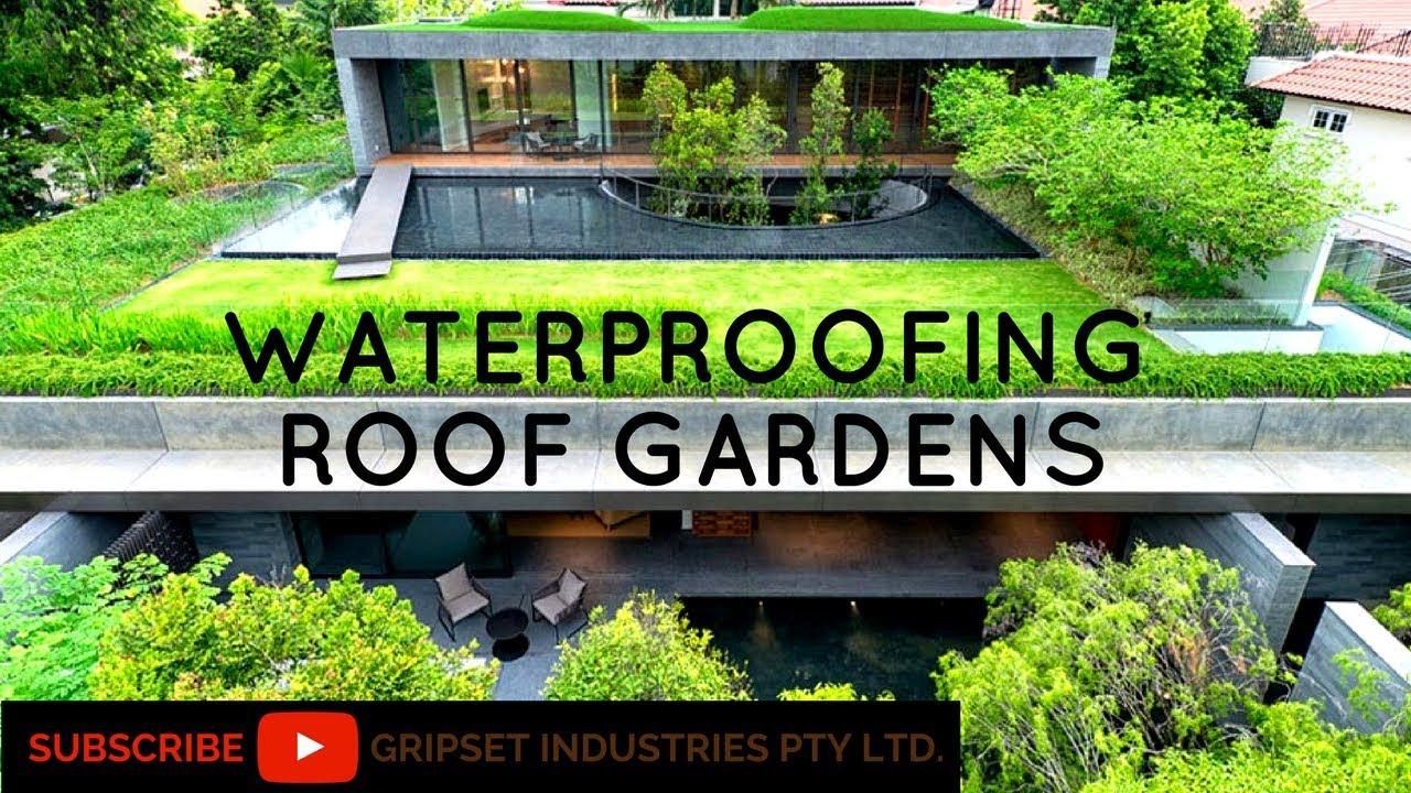 How To Waterproof Rooftop Gardens Youtube
