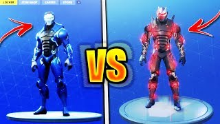 "*NEW* ""UPGRADED SKINS UNLOCKED"" in Fortnite! Season 4 ""UPGRADED CARBIDE Vs UPGRADED OMEGA"" GAMEPLAY!"