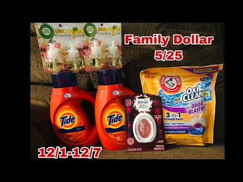 Family Dollar 5/25 Deal | Under $10 🎉 Good Til Dec 7th