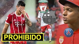 Bayern prohibe a James | Livepool da