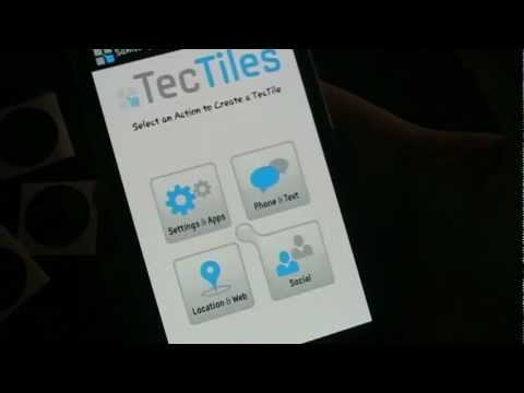 NFC Tags W/ Samsung Galaxy S3 Tectile App And AndyTags - Super Fast Ninja Review