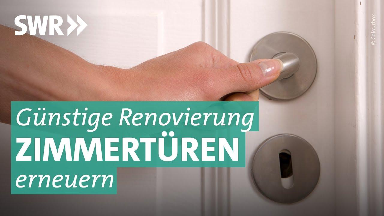 Tür-Renovierung: Aus alt mach neu - YouTube