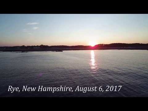 Atlantic Sunset: Ocean Drone Flight, Rye, New Hampshire with the Typhoon H