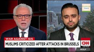 CNN Wolf Blitzer: Ahmadiyya Muslim Community spokesperson discusses Brussels attacks