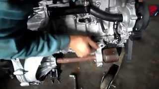 remplacement boîte mécanique 6 vitesses Peugeot 508 1 6 THPاستبدال علبة التروس 6 سرعات بيجو