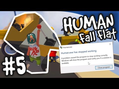 Broke The Game! | Human: Fall Flat #5
