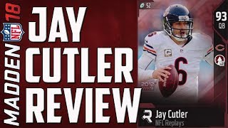 BEST BUDGET QB! How Good is NFL Replay Jay Cutler? MUT 18 Card Review