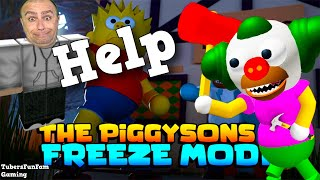 Roblox PIGGY turns in PIGGYSONS lets play Simpsons in Roblox!