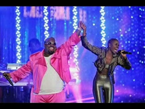 V Bozeman performs 'Fool For You' with CeeLo Green in Los Angeles