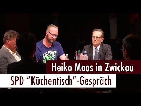 Heiko Maas in Zwickau - SPD