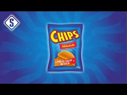 CorelDraw Tutorial - Realistic 3D Packaging Design - Chips Packaging Design