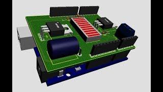 Dicas Proteus - Fazendo Shield do Arduino