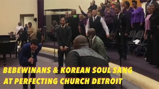Bebewinans & Korean Soul Live on Oct 13 Perfecting Church in Detroit