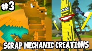 Scrap Mechanic CREATIONS! - WALKING CHARIZARD! [#3] W/AshDubh | Gameplay |