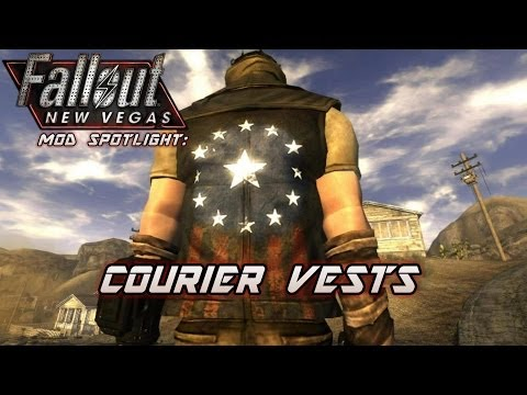 Mod Spotlight Courier Vests Fallout New Vegas