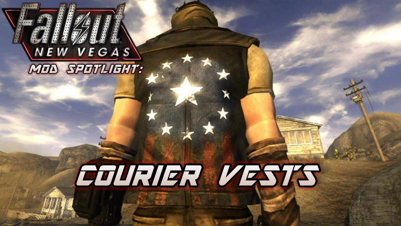Mod Spotlight  Courier Vests  Fallout  New Vegas