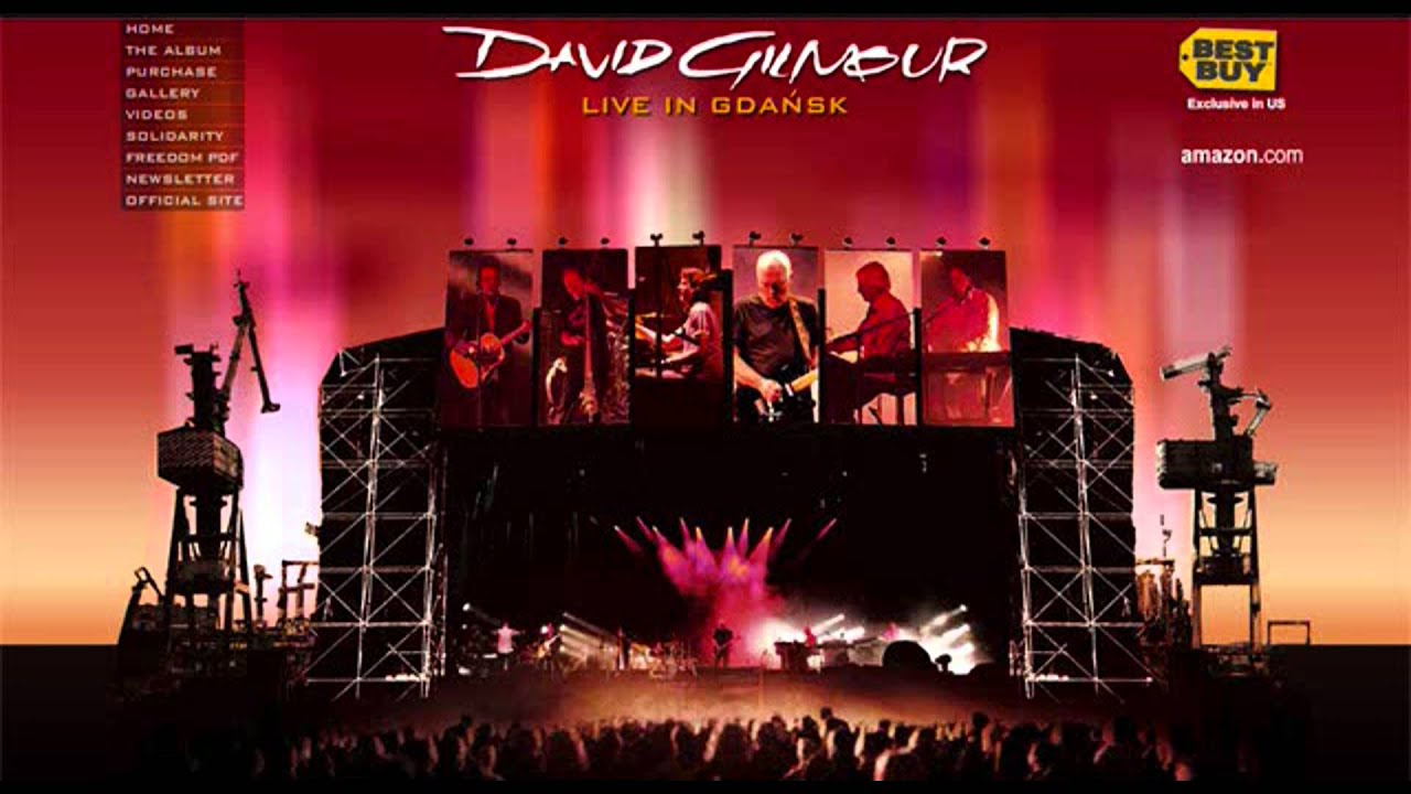 david gilmour echoes live in gdansk hq youtube. Black Bedroom Furniture Sets. Home Design Ideas
