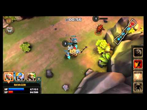 Legendary Heroes HD Android Gameplay