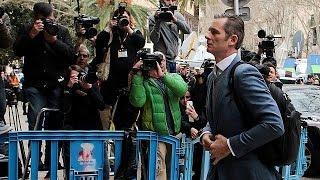 İspanya Kraliyeti damadına adli kontrol şartıyla tahliye
