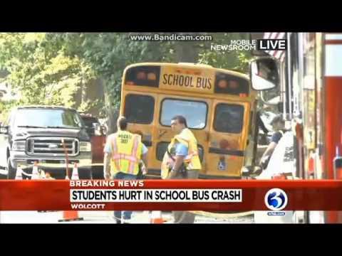 WFSB - Wolcott School Bus Crash