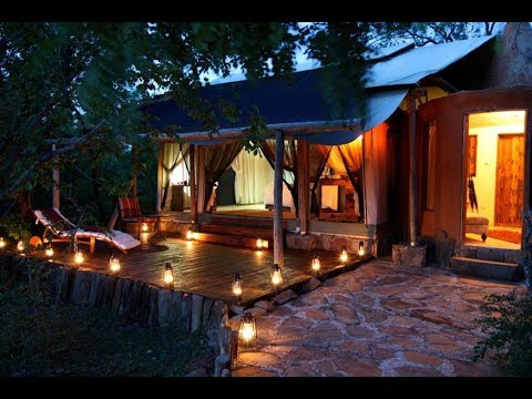 Glamping in Tanzania at Azura Selous