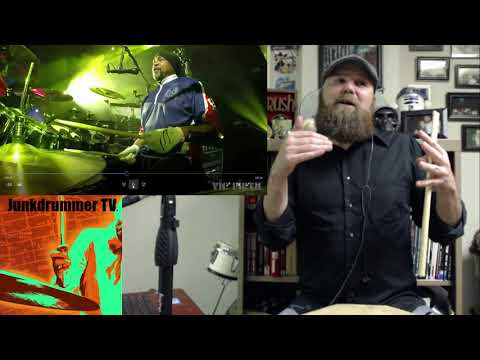 Drum Teacher Reacts To Carter Beauford Of The Dave Mathews Band What Would You Say - Episode 2