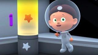 Мультики для маленьких про цифры и формы: СЧИТАЕМ с ПОЛОЙ. серия Астронавты развивающие мультфильмы