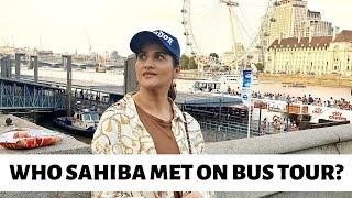 Bus Tour | London | Naveed & Ainie | Friends | Sahiba | Rambo | Lifestyle With Sahiba