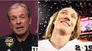 Jimbo Fisher gushes about Trevor Lawrence ahead of Texas A&M vs. Clemson | Paul Finebaum Show